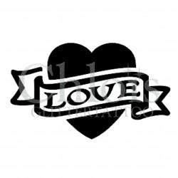 Coeur Love n°4807 tatouage temporaire