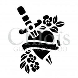Coeur tattoo n°4809 tatouage temporaire