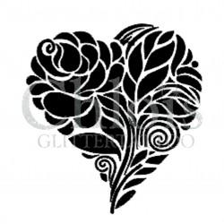 Coeur n°4811 tatouage temporaire