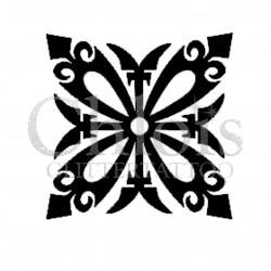 Stencil n°6001 pour tatouage éphémère