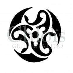 Mandala n°6003 pour tatouage éphémère