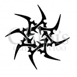 Pochoir n°6004 pour tatouage éphémère