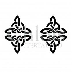 Pochoir Duo n°6007 pour tatouage éphémère