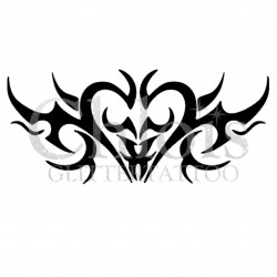 Pochoir n°6009 pour tatouage éphémère