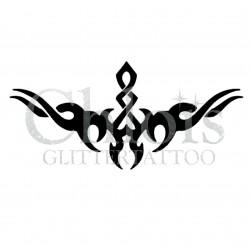 Pochoir n°6010 pour tatouage éphémère