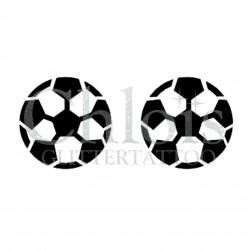 Ballons de foot n°6500 tatouage temporaire