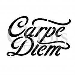 Carpe Diem n°7005 pochoir pour tatouage temporaire