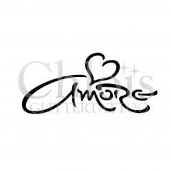 Amore n°7007 pochoir tattoo éphémère