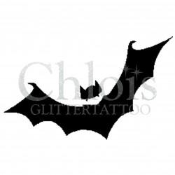 Chauve-souris n°8400 tatouage temporaire pour Halloween