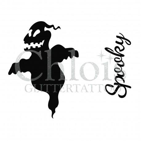 Fantôme n°8408 pochoir pour tatouage d'halloween