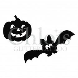 Pochoir n°8410 pour Halloween