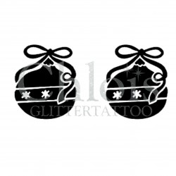 Pochoir n°8805 Boules de Noël