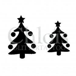 Pochoir n°8806 Sapin de Noël