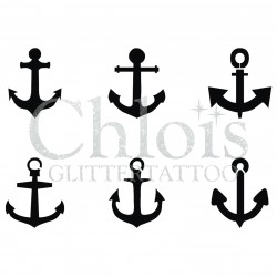 Ancres n° 9400 pochoir minis tattoos