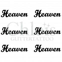 Pochoir n° 9704 tatouage Heaven