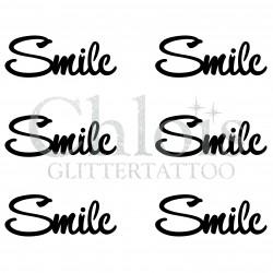 Pochoir n° 9707 tatouage Smile