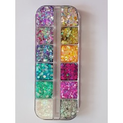 Essential Glitter Balm - Unicorn Palette