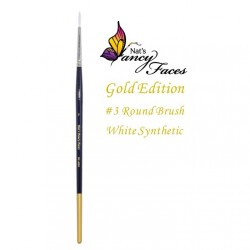 Pinceau n°3 rond Nat's Gold Edition de Fusion BodyArt