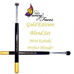Pinceaux mini Kabuki & Perfect Blender Gold Edition de Fusion BodyArt