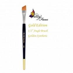 Pinceaux 1/2 biseauté Gold Edition de Fusion BodyArt
