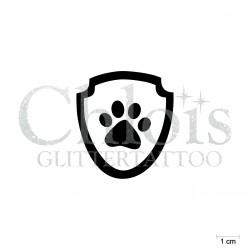 Pat Patrol n°1013 stencil tattoo