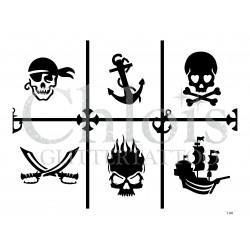 """Planche à thème """"Pirates"""" n° 29803"""