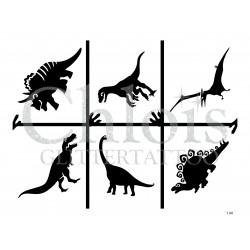 """Planche à thème """"Dinosaures"""" n° 29806"""