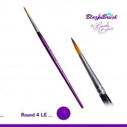 Pinceau pointe ronde 4 Round Marcela Bustamante Blazin Brush