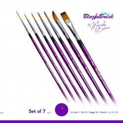 Kit Set pinceau maquillage artistique grimage Blazin Brush