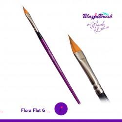 Pinceau Flora Flat 6 Marcela Bustamante Blazin Brush