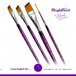 Long Angled Set Blazin Brush de Marcela Bustamante