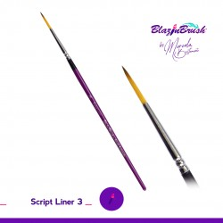 Pinceau Script Liner 3 Marcela Bustamante Blazin Brush
