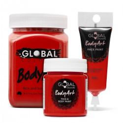 Peinture liquide Rouge Global Colours 45ml