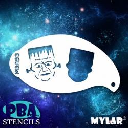 Pochoir PBA n°93 - Frankenstein