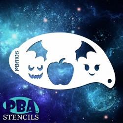 Pochoir PBA n°105 - Citrouille d'Halloween