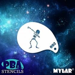 Pochoir PBA mini 02 - Squelette