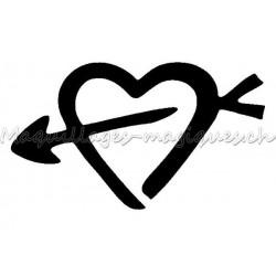 Coeur Cupidon