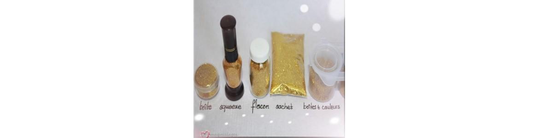 Paillette sèches pour maquillages & tatouages