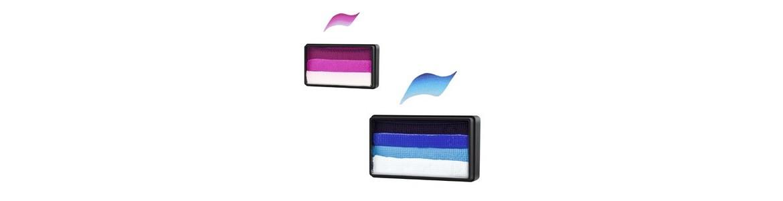 Rainbow cakes & Split cakes